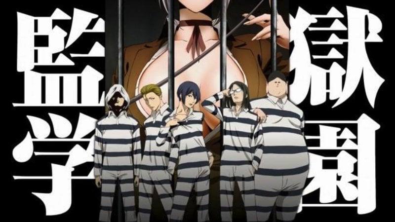Prison school - animes ecchi