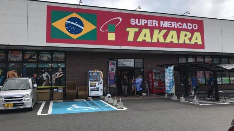 Supermercado brasileiro takara no japão