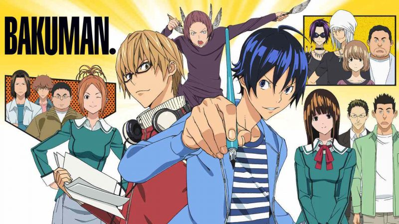 The Best Slice of Life Anime of Everyday Life - bakuman 5
