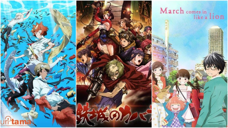 Animes with differentiated strokes and arts - kabaneri animes 7