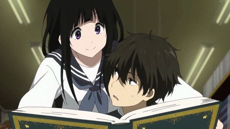 The best school anime + TOP 200 list - hyouka 1 12