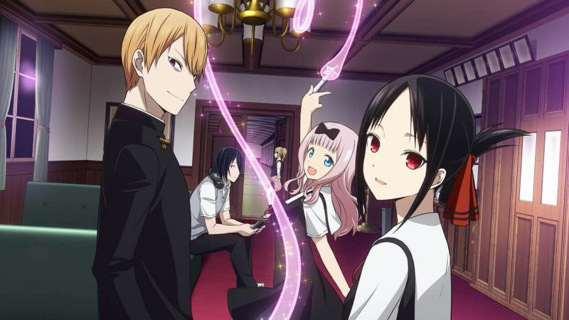 The best school anime + TOP 200 list - kaguya love wars 7