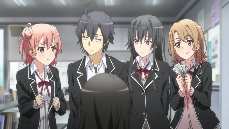 The best school anime + TOP 200 list - oregairu 11