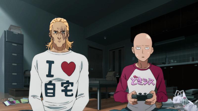 Saitama vs King no jogo