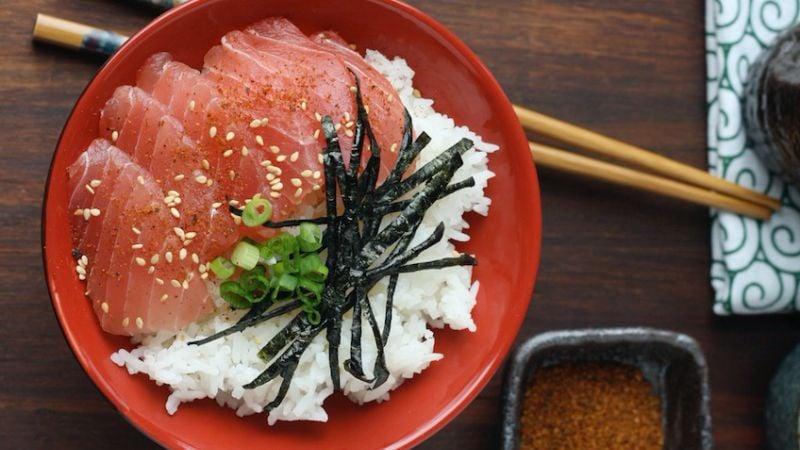 Donburi - 18 platos japoneses en el cuenco