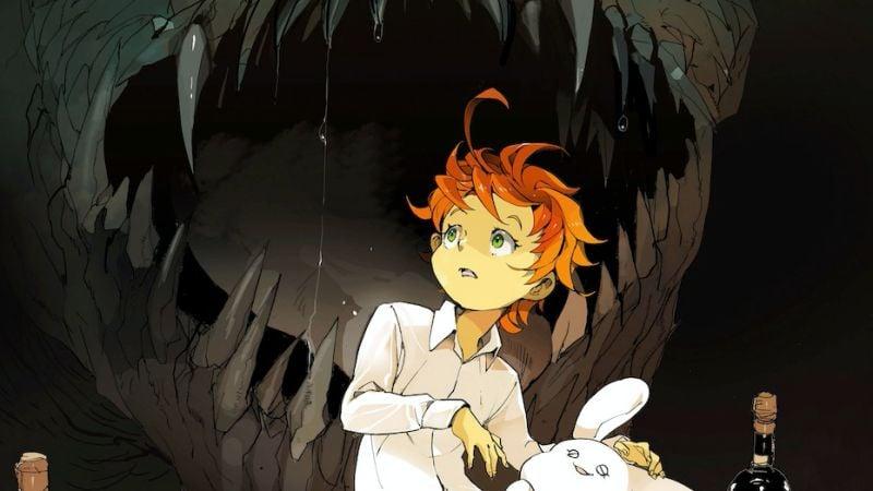 Lista de animes de ficção científica sci-fi + top 10 - yakusoku neverland 2