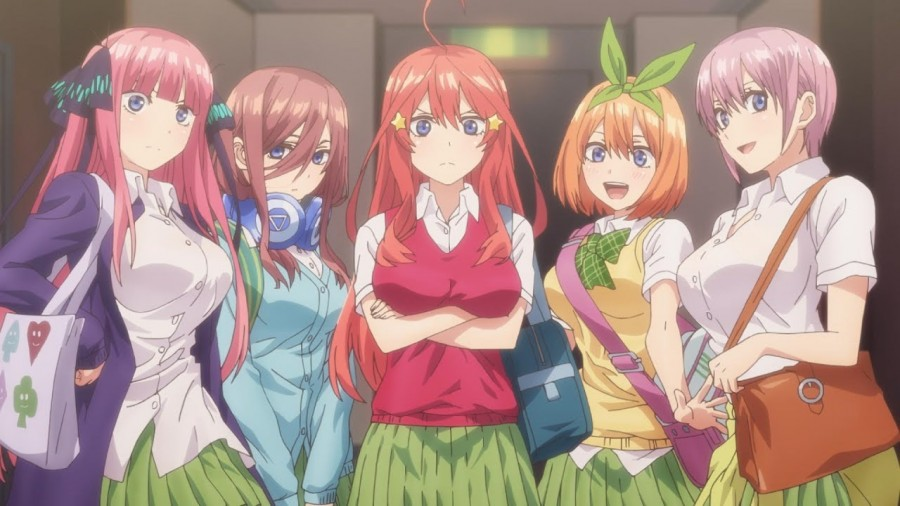 Gotobun no hanayome - the quintuplets