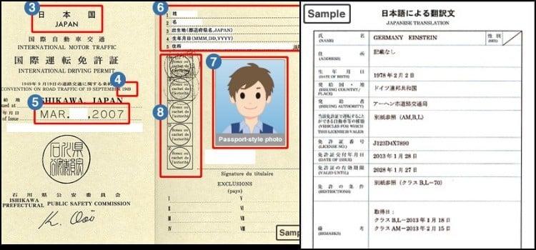 Posso dirigir no japão com permissão internacional ou cnh?