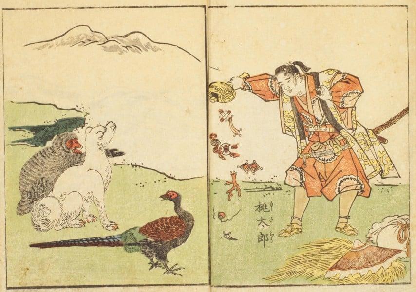 Momotarō - the legend of the peach boy