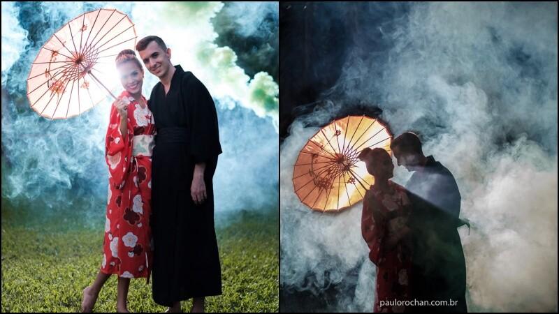 Séance photo à la japonaise - Yukata Photography