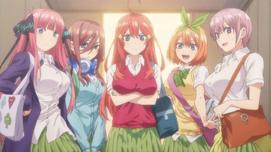 Gotoubun no hanayome - 5 hermanas quintuples