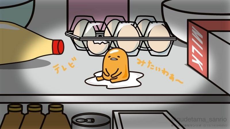 Gudetama - mascote japonês do ovo