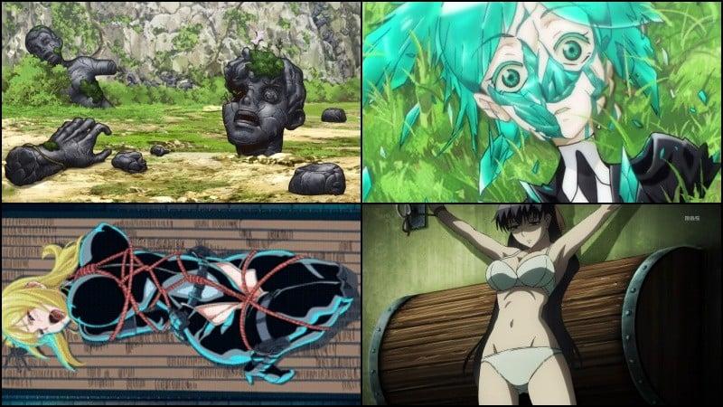 Ryona - violência contra mulheres nos animes - ryona cenas