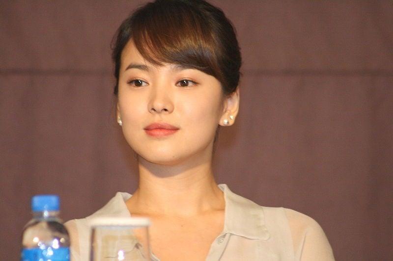 10 atrizes coreanas mais famosas de doramas - song hye kyo
