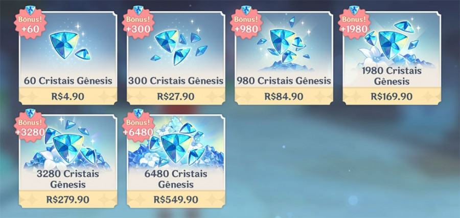 15 formas de ganhar cristais gênesis no genshin impact grátis