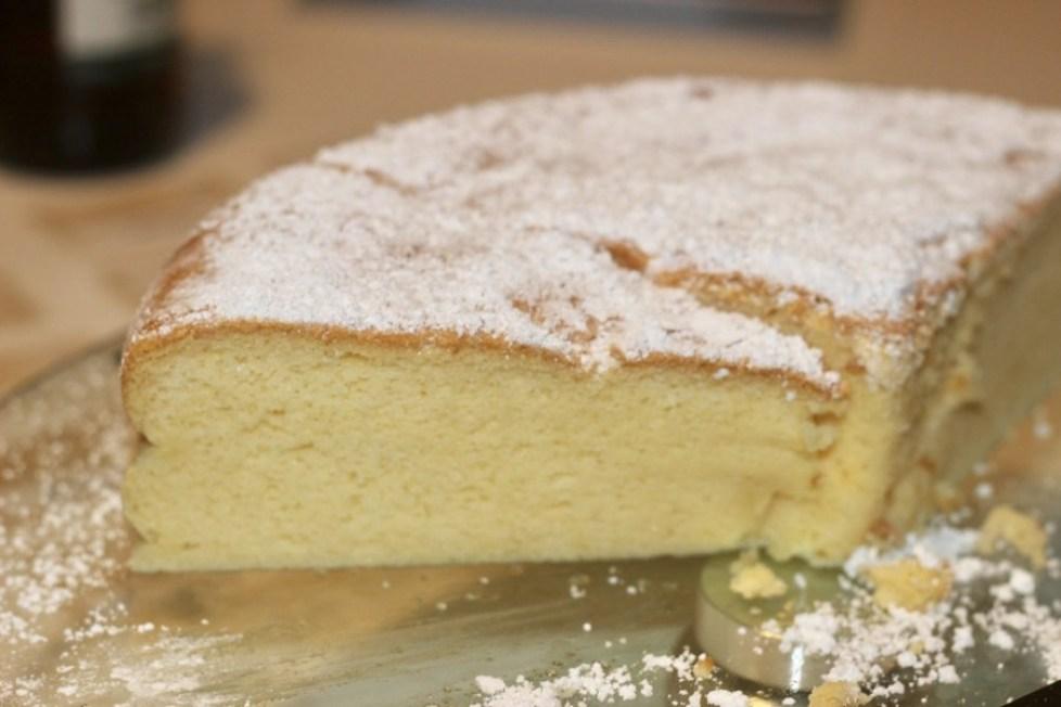 O segredo do cheesecake japonês - cheesecake japonese