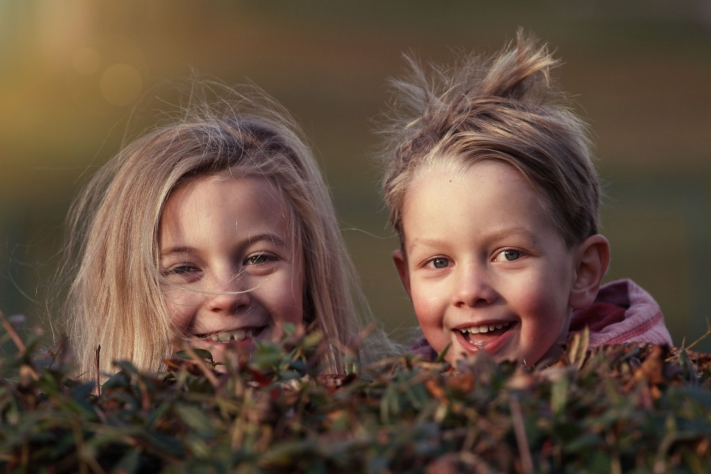 Happiness of children