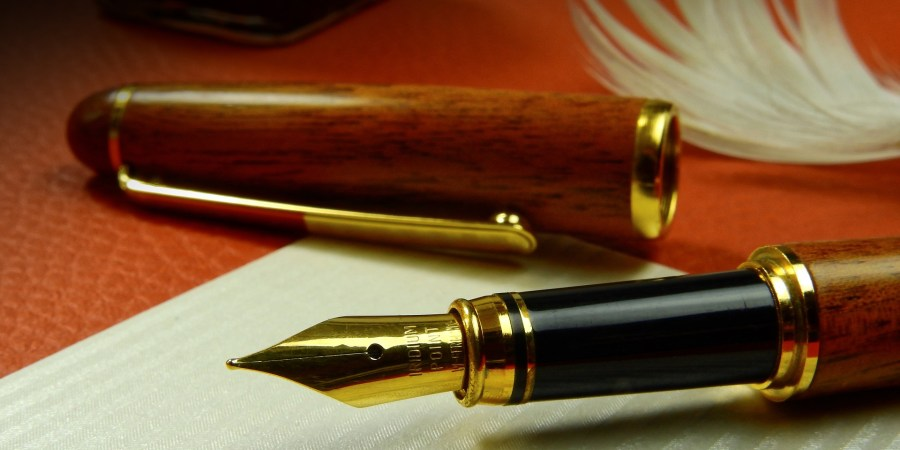 A fountain pen is the ultimate writing instrument