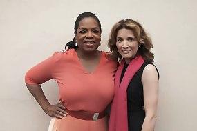 Gordana Biernat with Oprah Winfrey