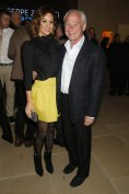Brooke Burke-Charvet with Skechers COO and CFO David Weinberg