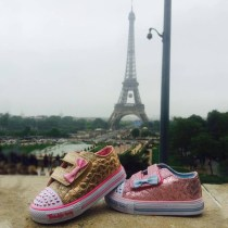 Style 10600 at the Eiffel Tower in Paris, France