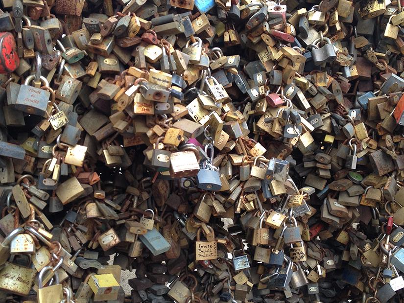 Pecs Love Locks