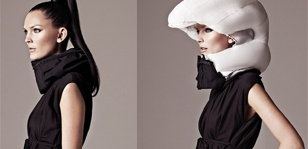 Swedish scarf is future of bicycle helmets
