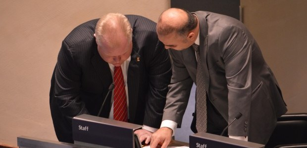 After a chaotic meeting Ford now 'Mayor in name only'