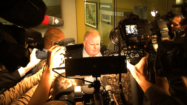 Intoxicated Rob Ford's murderous rant caught on video