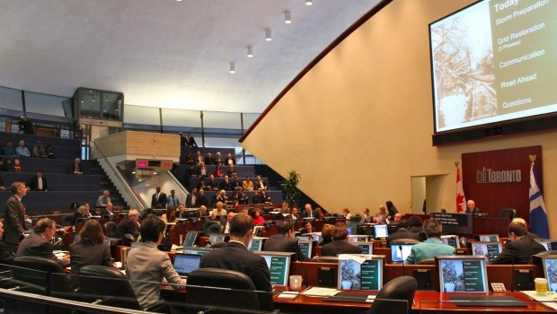 City council holds special meeting to discuss storm relief from province