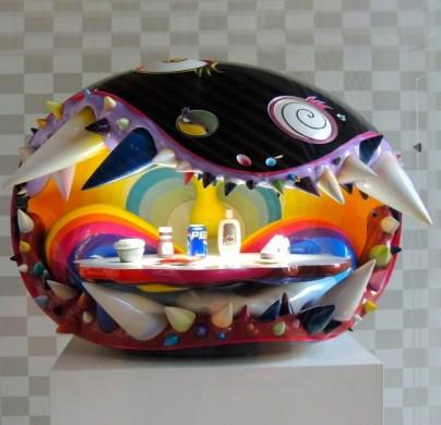 Pharrell Williams own personal collectible design by Takashi Murakami.