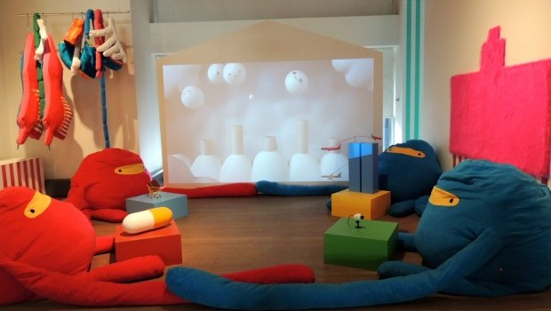 Design Exchange displays toys for adults
