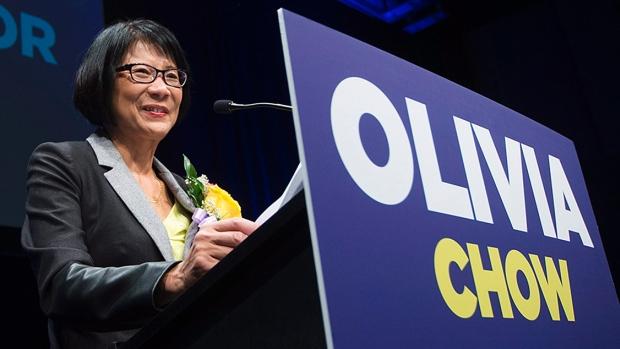 Profile: Olivia Chow's push for Toronto's top job