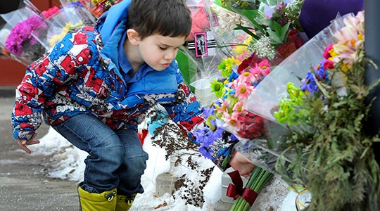 Funeral for slain Mountie held in Alberta