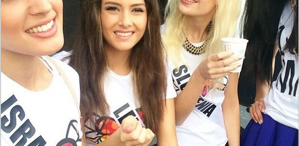 Miss Israel selfie controversy
