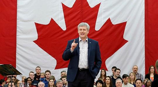 Security and economy top Harper's agenda
