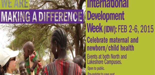 International development week kicks off at Humber