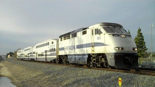 Train derails in southern California