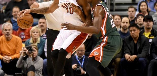 Toronto Raptors play against Milwaukee Bucks