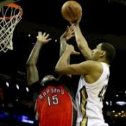 Raptors falter against Pelicans