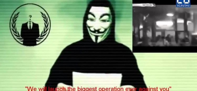 Anonymous has declared war on Islamic State