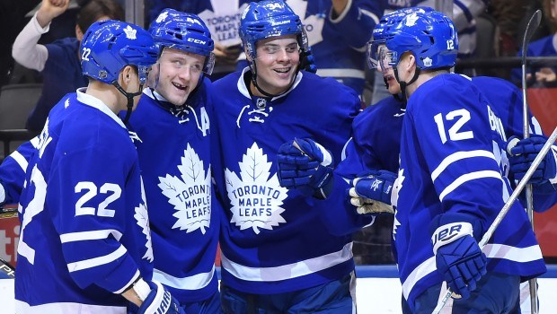 Leafs' young bloods give rise to winning ways