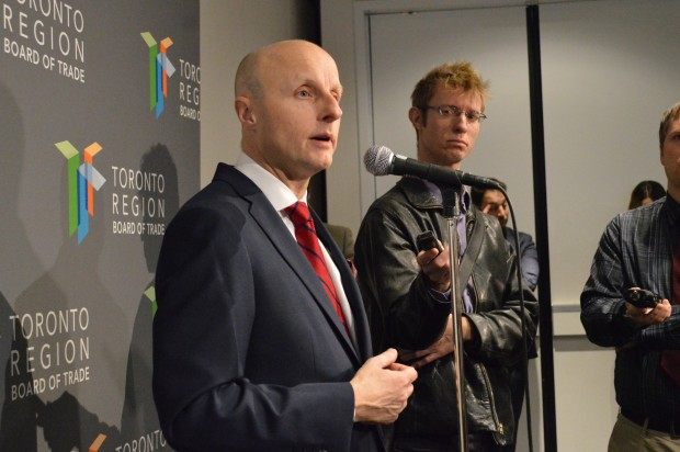 TTC CEO Andy Byford speaks of optimism and change for the next 5 years