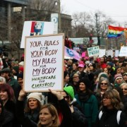 Toronto women's march against Trump draws 60,000