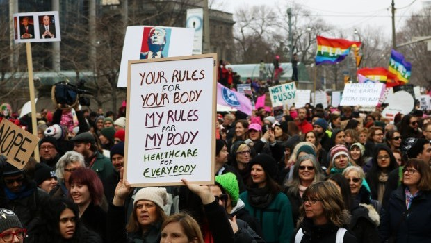Toronto women's march against Trump draws 60,000