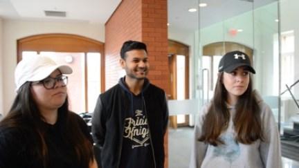 Students talk Canadian politics