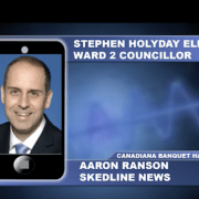 Stephen Holyday elected as Ward 2 Councillor