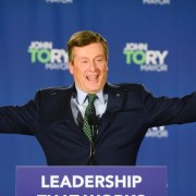 John Tory is re-elected as Mayor of Toronto