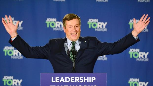 John Tory is re-elected as Mayor of Toronto
