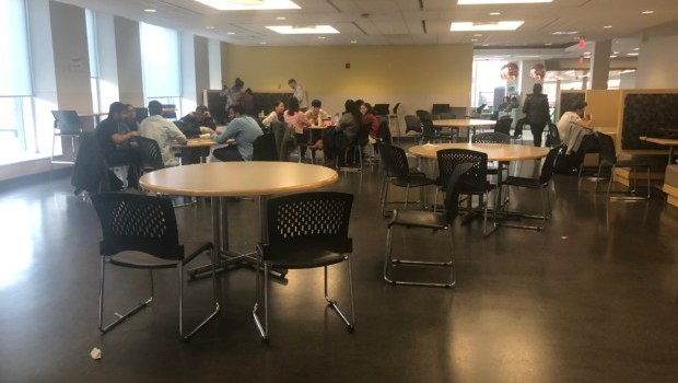 Campus lunch-time turf war heats up